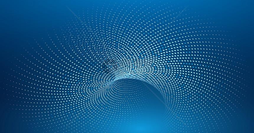 粒子背景科技图片