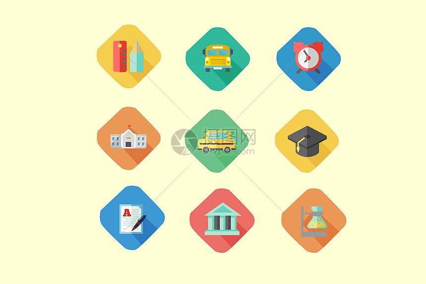 教育毕业类图标图片