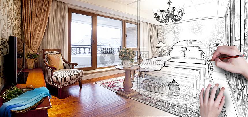 欧式卧室装修图片