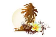 热带风景插画400206192图片