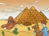 旅游插画图片
