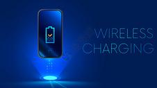 科技手机无线充电图片