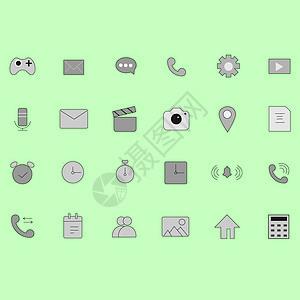 手机商务图标图片