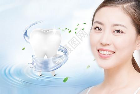 牙齿健康图片