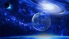 科幻太空星球背景图片