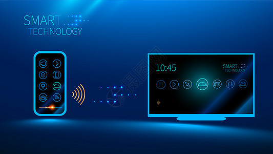 高科技手机无线遥控图片