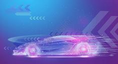 智能汽车驾驶科技图片