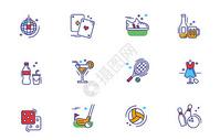 运动娱乐休闲图标icon图片