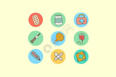 医疗健康类图标图片