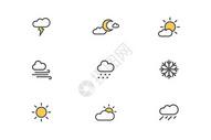 天气类图标图片