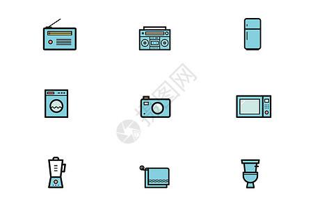 家居电器类图标图片