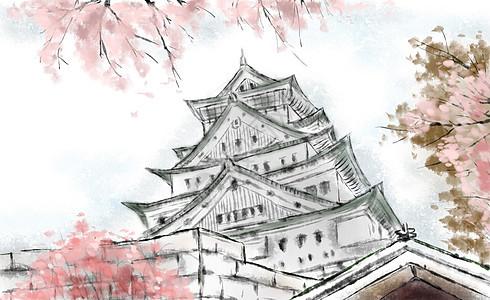 日本大阪图片
