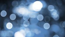 蓝色梦幻光斑图片