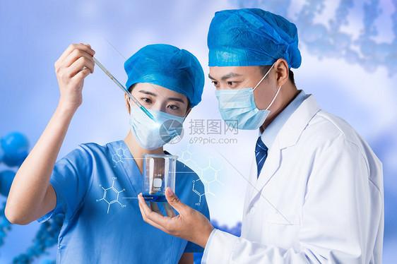医疗研究人员图片
