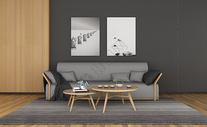 欧式客厅背景图片