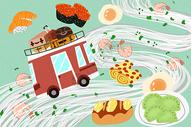 旅途中的美食图片