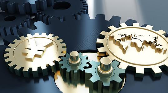 机械齿轮经济发展图片