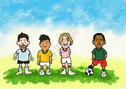 世界杯插画下载图片