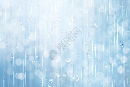梦幻雨水光晕背景图片