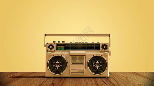 怀旧录音机图片