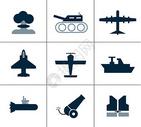 军事用品图标图片