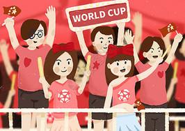 加油世界杯图片