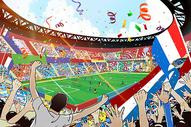 世界杯足球场图片