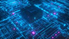 未来科技芯片图片