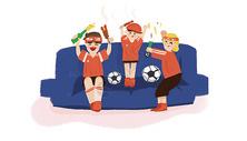 世界杯看球图片