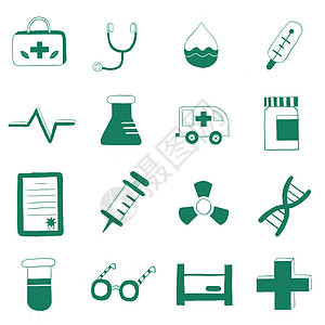 医疗插画图标图片