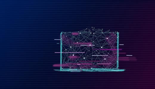 笔记本电脑科技背景图片
