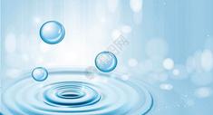 创意水滴背景图片