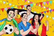 观看世界杯图片
