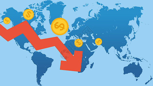 全球股市震荡图片