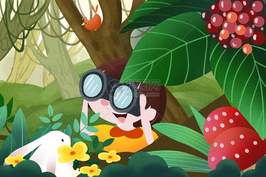 丛林探险图片