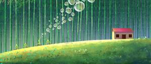 旅途的风景竹林图片