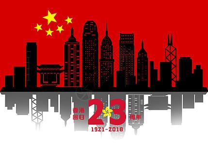 香港回归21周年图片