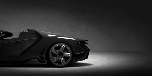 创意炫酷跑车背景图片