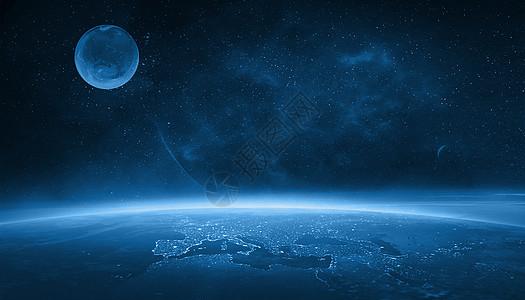 太空宇宙科幻星球背景图片