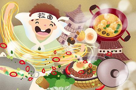 旅途中的美食文化图片