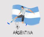 世界杯踢足球图片