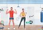 活力健身房图片