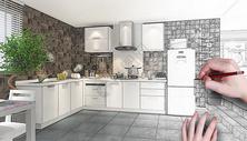 简约厨房装修图片