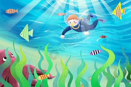 旅行潜水图片