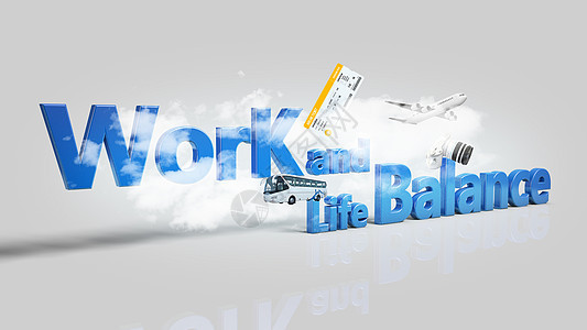 工作生活平衡图片