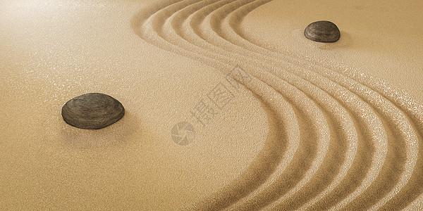 沙漠太极图片