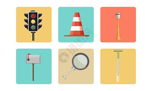 道路图标图片
