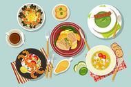 中西餐美食图片