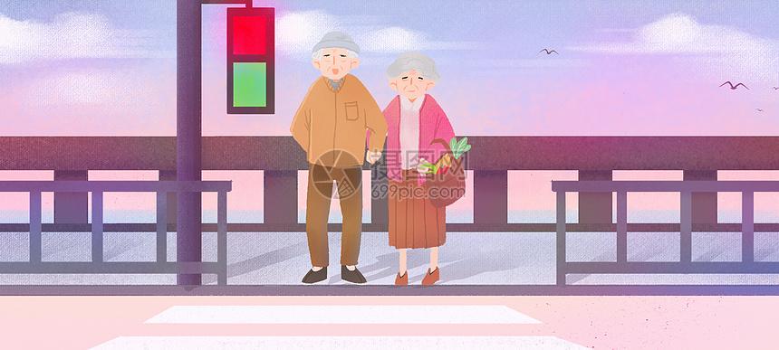 老年夫妻日常生活图片