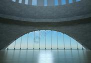 炫酷建筑空间场景图片